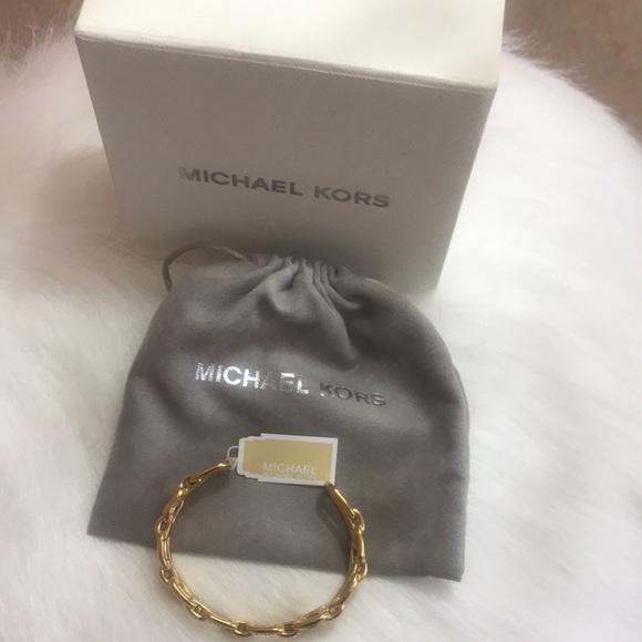 Micheal Kors Cuff Bangles with diamonds